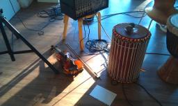fiol trumma