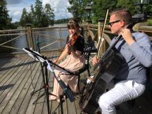 Duo Isabelle & Erik, sommarbröllop