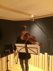 Inspelning, viola