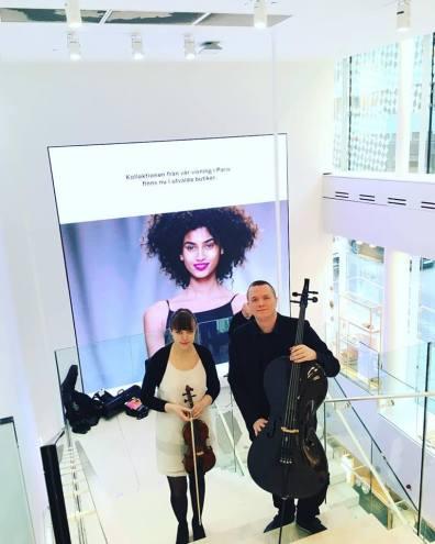 H&M, Duo Isabelle & Erik
