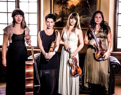Prismakvartetten, foto: Elias Gammelgård
