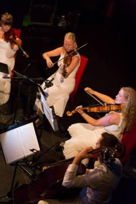 Kristallkvartetten på Classical NEXT, foto: Eric van Nieuwland