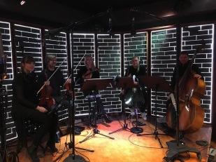 Inspelning Spotify Studios, Stråkkapellet